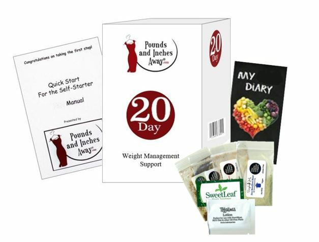 20 Day Pounds and Inches Weight Management Package (Alcohol Based)
