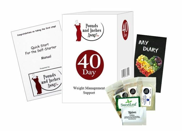 40 Day Weight Management Package (Mineral water Based)