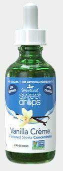 SweetLeaf Vanilla Creme Sweet Drops