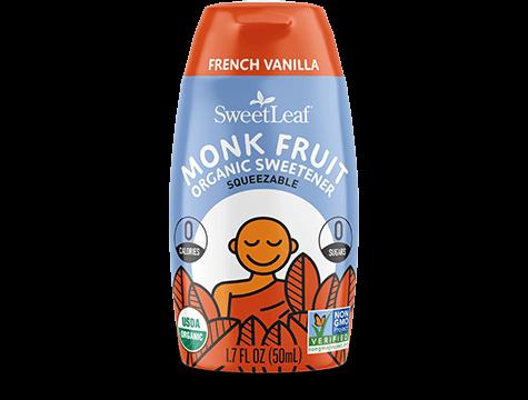 French Vanilla Monk Fruit Organic Sweetener